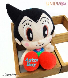 【UNIPRO】Q版 原子小金剛 Astro Boy 絨毛娃娃 玩偶 吊飾