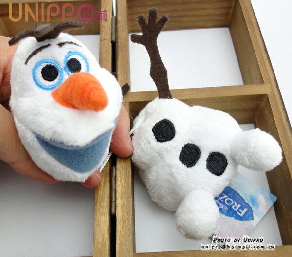 【UNIPRO】冰雪奇緣 FROZEN 雪寶 拉震 抖抖 震動 絨毛玩偶 娃娃 吊飾 11公分 迪士尼正版授權