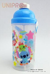 【UNIPRO】迪士尼 史迪奇 彈蓋水壺 茶壺 冷水壺 水壺 500ML 水瓶 正版授權