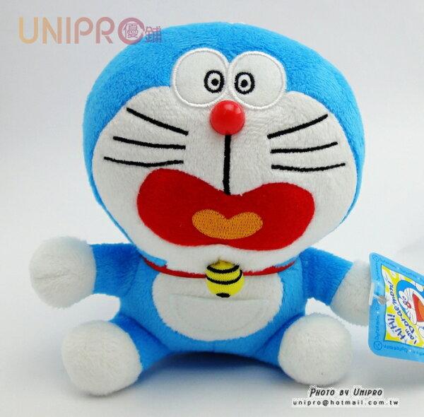 【UNIPRO】哆啦A夢 小叮噹 Doraemon 6吋 驚嚇 老鼠 坐姿 絨毛玩偶 娃娃 小吊飾 禮物