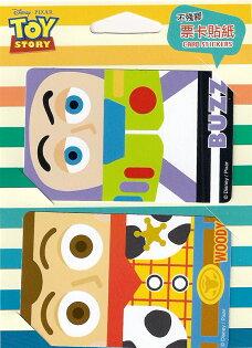 【UNIPRO】迪士尼悠遊卡貼紙 玩具總動員 巴斯光年 胡迪 會員卡 悠遊卡 票卡貼紙