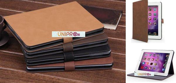 UNIPRO【i35】New iPad 2 3 4 奢華簡約復古 磨砂 書本式 磁扣 皮套 保護殼 保護套 iPad4