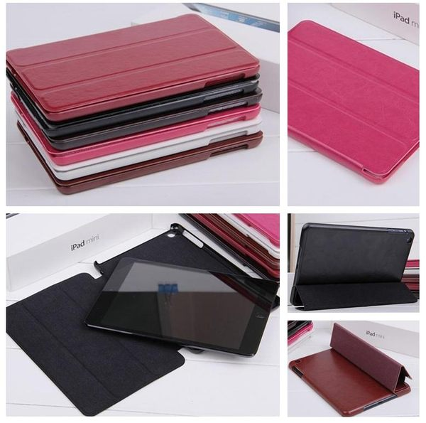 UNIPRO【M047】New iPad 2 3 4 5 Mini Air 超薄 瘋馬 PU皮革 超質感皮套 支架 休眠 商務 保護套
