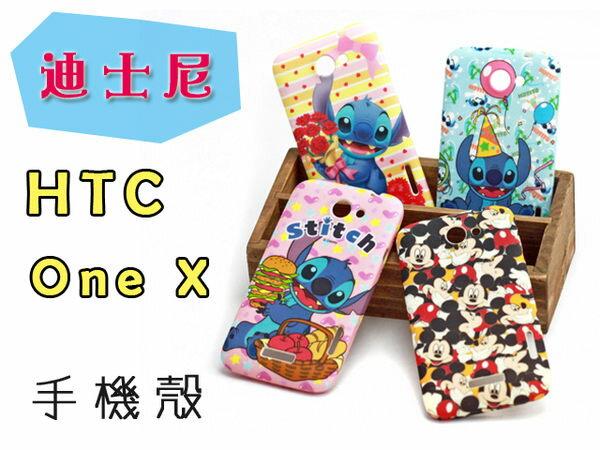 UNIPRO 迪士尼 史迪奇 米奇 米妮 唐老鴨 奇奇蒂蒂 小飛象 HTC One X 手機殼 矽膠軟殼 保護套