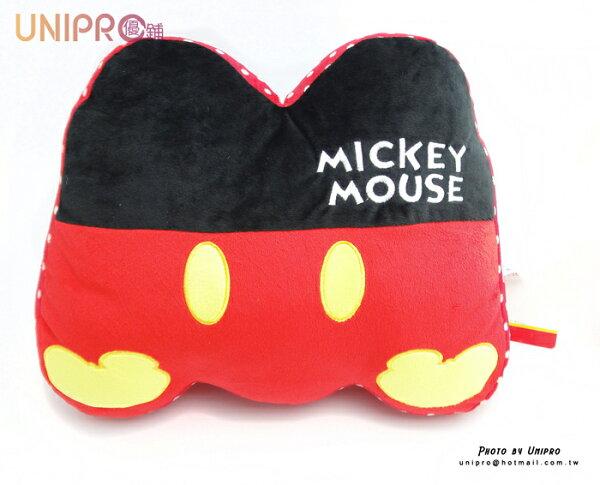 【UNIPRO】迪士尼 卡通 18吋 字母枕 Mickey 字母 M 靠枕 午安枕 抱枕 墊靠 字母抱枕 禮物