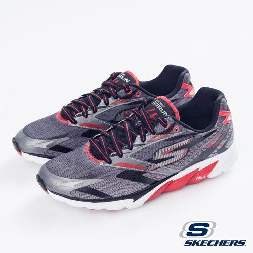 [陽光樂活] SKECHERS 男款 GO RUN 4 跑步系列 53995BKRD