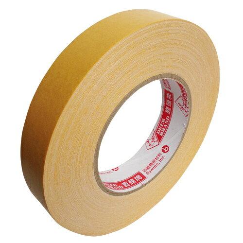 【鹿頭牌 雙面膠帶】DS17B萬黏雙面布膠帶 24mm×25M(6支/卷)
