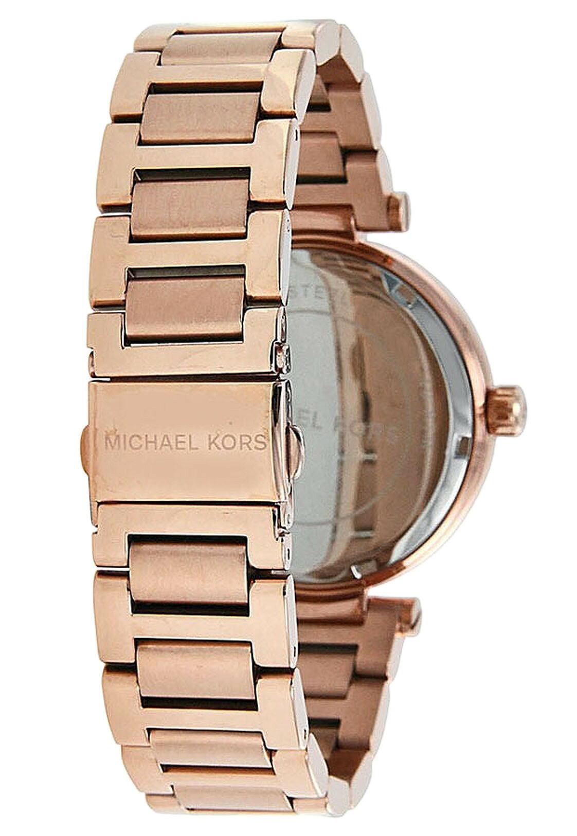 美國Outlet正品代購 MichaelKors MK 復古羅馬數字玫瑰金水鑽  陶瓷  三環 手錶 腕錶 MK5868 4