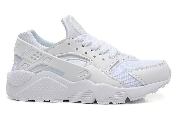 Nike Air Huarache 白武士 男女情侶鞋 慢跑鞋 運動鞋