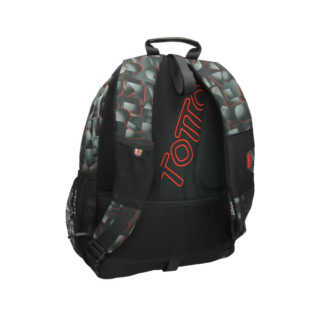Totto Acuareles Backpack (red letter) 3