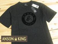 agnès b.到[Anson king]outlet國外代購 agnes b.sport b 黑色閃電 短袖 圓領 男款 T恤 黑