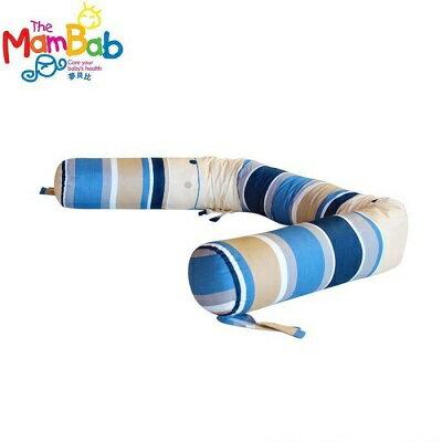 【安琪兒】台灣【MamBab 夢貝比】糖果多功能護圈枕-藍條 - 限時優惠好康折扣