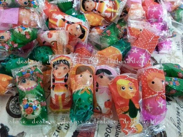 有樂町 聖誕糖果樂趣 俄羅斯娃娃 果維軟糖 乳酸菌軟糖 200g130元