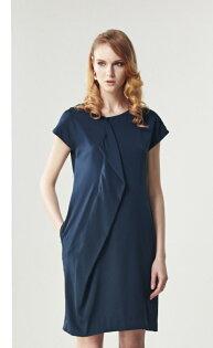 林廷芬服裝設計-Taylor-胸前不規則設計洋裝