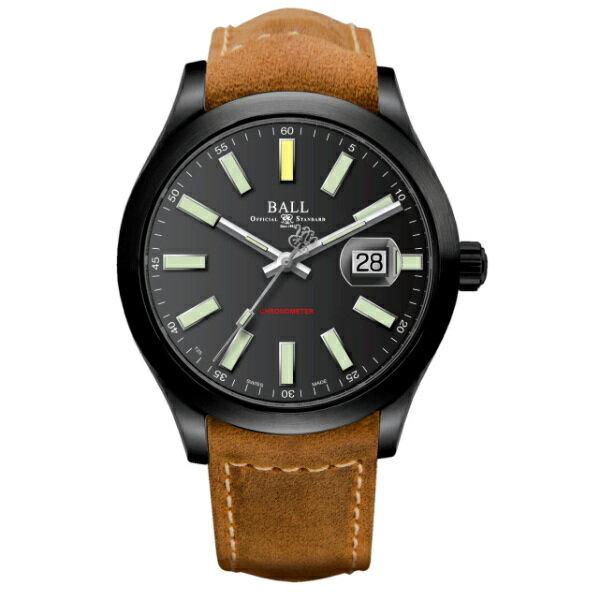 BALL 波爾錶NM2028C-L4CJ-BK EngineerII 貝雷特種部隊天文台機械腕錶腕錶/黑面43mm