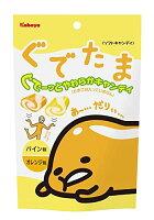 [即期良品]kabaya卡巴蛋黃哥軟糖-鳳梨和柳橙(80g) *賞味期限: 2016/10/31*
