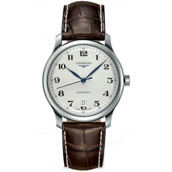 LONGINES L26284783巨擘經典優雅機械腕錶/白網紋面38.5mm