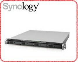 群暉 Synology RS815 4Bay NAS 網路儲存伺服器 機架式高效能NAS  ArmadaXP 1.33CPU/1G/4Bay/USB3.0x2/eSATAx1