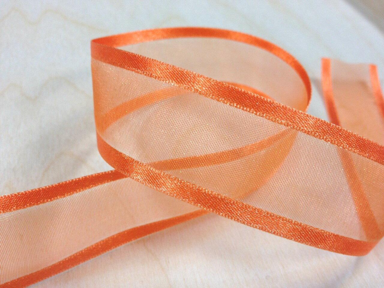 緞邊雪紗緞帶25mm 3碼裝(26色) 1