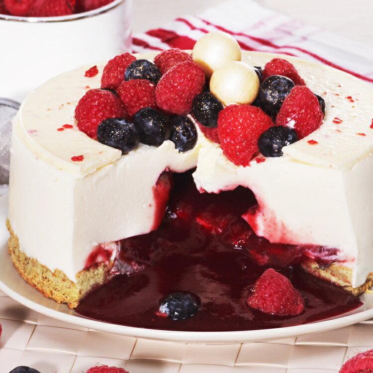 覆盆子爆漿蛋糕♥滿覆莓心6吋