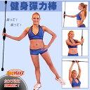 【洛克馬】 贈教學示範光碟 日本熱銷款 FLEXX 多功健身彈力棒 運動有氧健身棒 訓練上半身核心肌群-紅色款