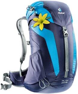 【露營趣】中和 附手電筒 deuter 3420216 AC Lite 22SL 網架直立式透氣背包 登山背包 旅遊背包 休閒背包