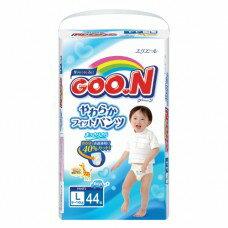 『121婦嬰用品館』大王 嬰兒褲型紙褲 L - 男(44片*3包/箱) 0