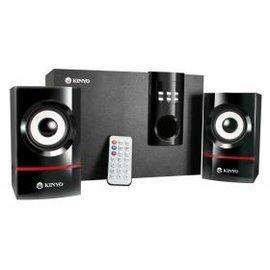 KINYO KY-7350 2.1聲道 MP3讀卡喇叭-直接播放隨身碟、MP3內儲存的音樂*免運費