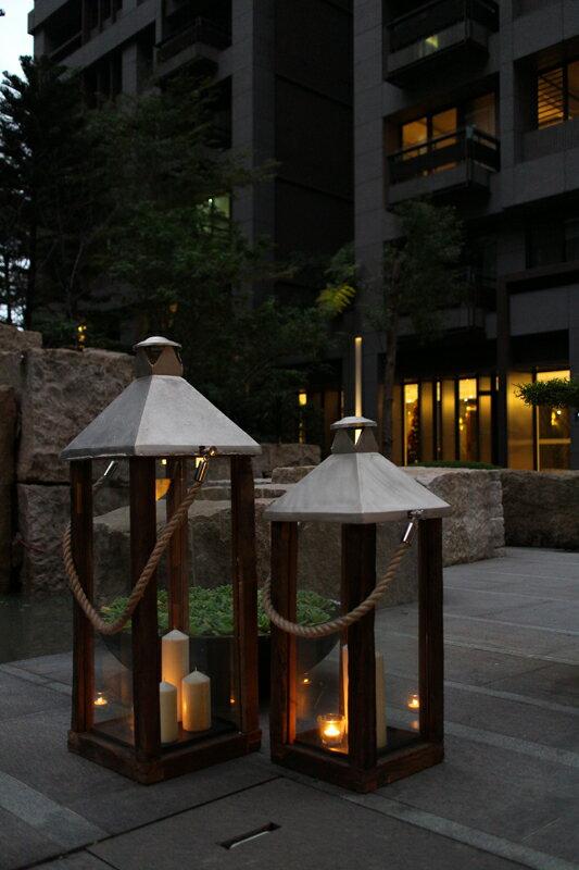 Upptäck Deco 騎士團提燈 - 全兩個尺寸【7OCEANS七海休閒傢俱】 1