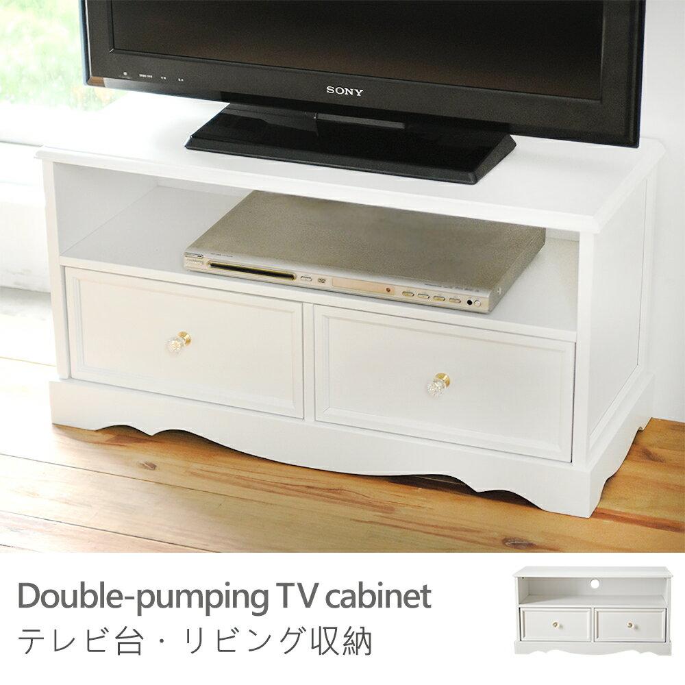 電視櫃 大茶几 收納櫃~N0042~愛麗斯公主風雙抽電視櫃 MIT 製 完美主義 ~  好