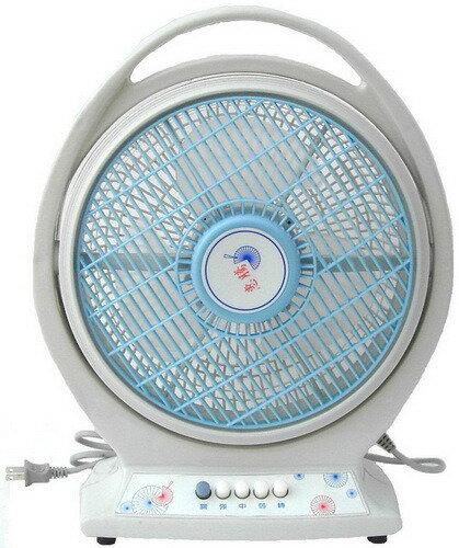 ?皇宮電器?惠騰10吋手提式冷風箱扇 FR-306