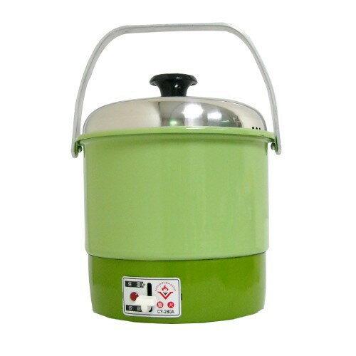 ✈皇宮電器✿ 聖火牌 電鍋 3人份 鋁製內鍋 CY-280A 煮飯.燉湯.清蒸皆宜 學生 套房族的好幫手