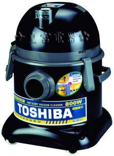 ✈皇宮電器✿ TOSHIBA 東芝牌 乾濕兩用吸塵器 TVC-1015 高密度過濾網 可過濾0.5μ微塵 雙色軟質滑輪 不傷地板