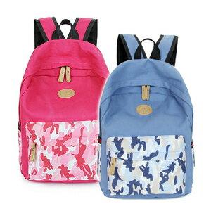 韓版 潮流多色迷彩 休閒後背包 包飾衣院 P1139