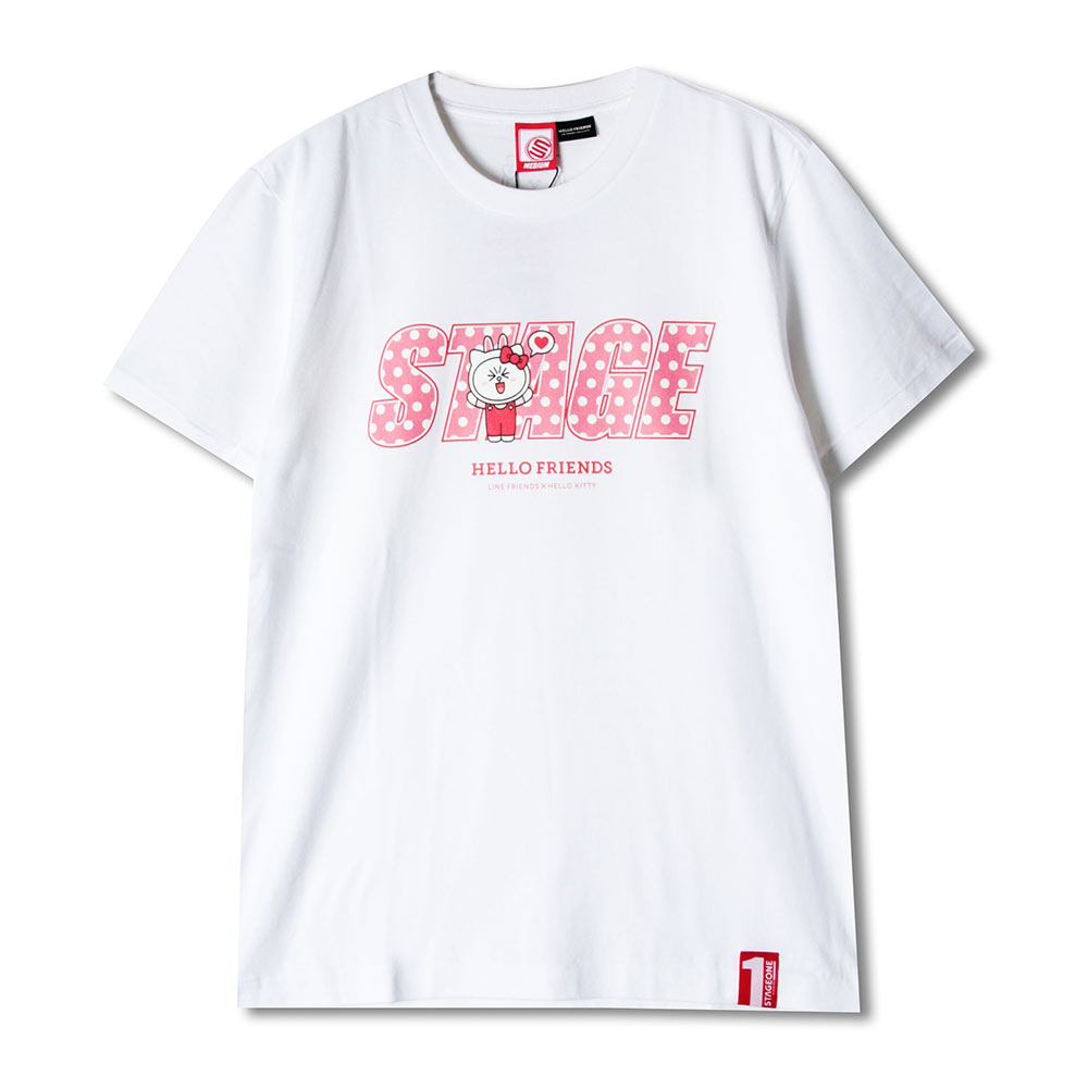 STAGE x HELLO FRIENDS 聯名限定 CONY ON STAGE TEE 3