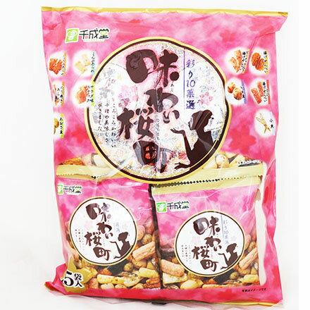 [敵富朗超市]千成堂綜合米果(15袋入) 0