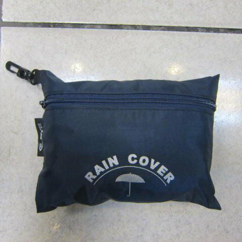 ~雪黛屋~EYE 背包防水雨衣罩行李箱雨衣罩輕便帶好收納可伸縮固定環釦MIT製造品質EYE998M深藍