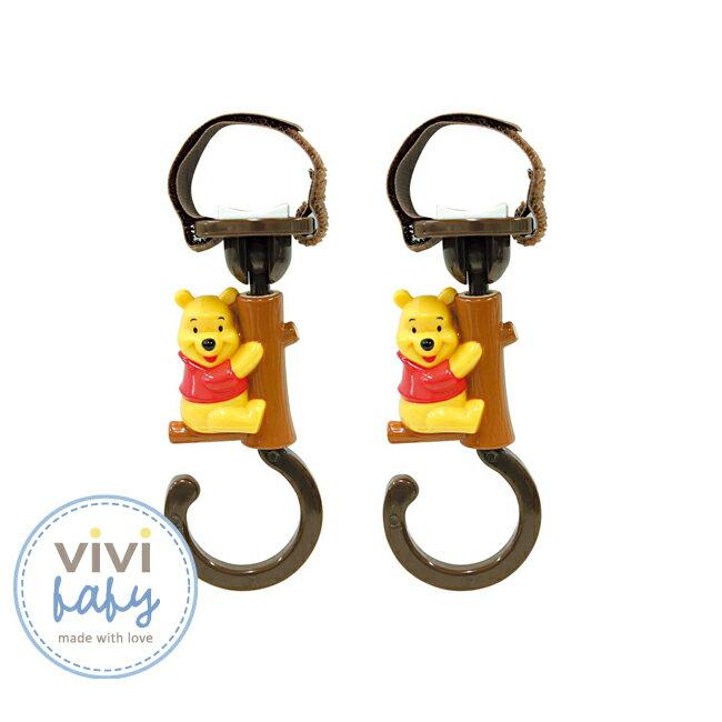 ViViBaby - Disney迪士尼小熊維尼推車掛勾 (2入/組) 1