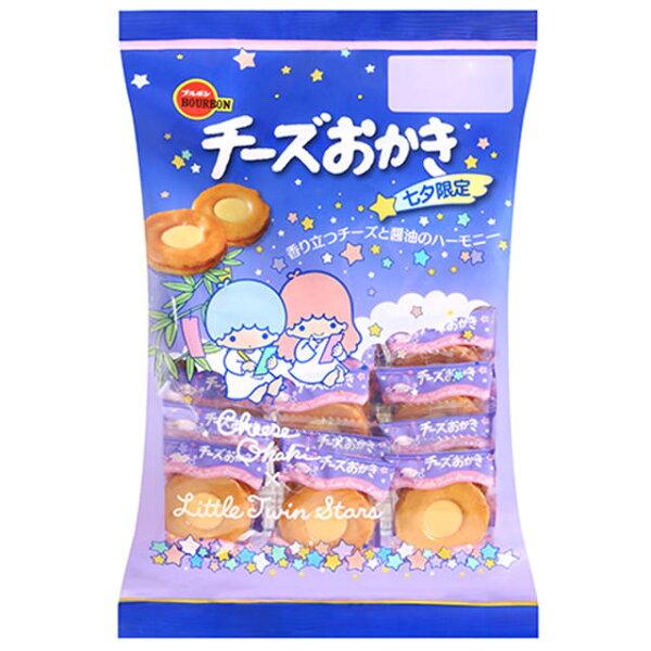 有樂町進口食品 日本進口 北日本雙子星起士米果 81g/22枚 4901360321094