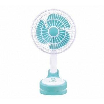 台灣【Simba 小獅王】萌萌家夾式電風扇(粉藍)