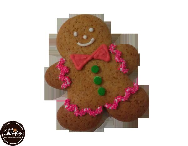 【裸餅乾Naked Cookies】薑餅人(小丑)6入-創意手工糖霜餅乾,婚禮小物/生日/活動/收涎/彌月