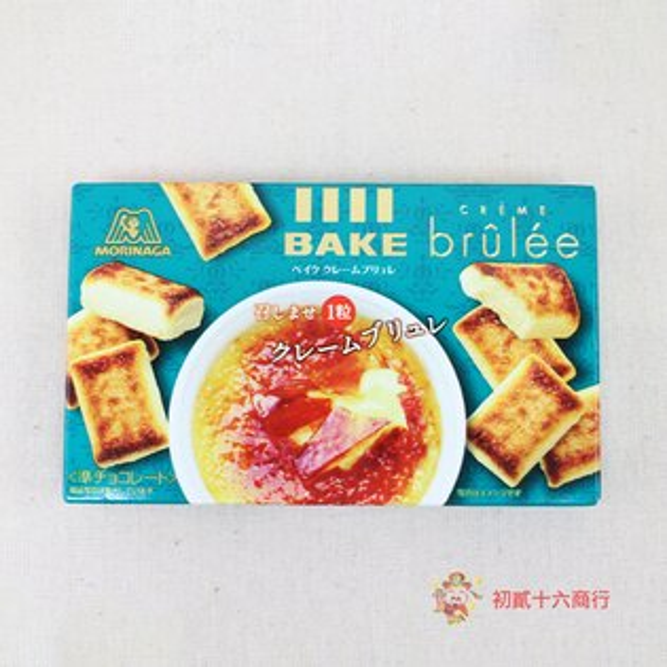 【0216零食會社】日本森永BAKE-焦糖烤布丁37g(10入)