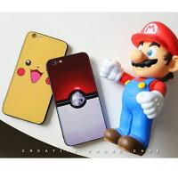 Pokemon:精靈寶可夢到獨家設計 Apple iPhone 6S/6S Plus Pokemon 寶貝球款 保護殼 背蓋 軟邊框+硬背板雙重保護