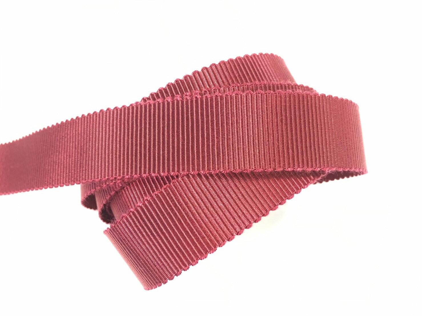 迴紋帶 羅紋緞帶 10mm 3碼 (22色) 日本製造台灣包裝 2