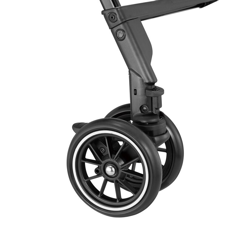 Combi康貝 - Handy Auto 4 Cas PLUS 輕量四輪自動鎖放手推車 -水晶黑 9