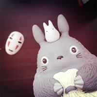 神隱少女周邊商品推薦PGS7 日本卡通系列商品 - 龍貓 無臉男 造型 存錢筒 となりのトトロ Totoro 宮崎駿 吉卜力 存錢桶