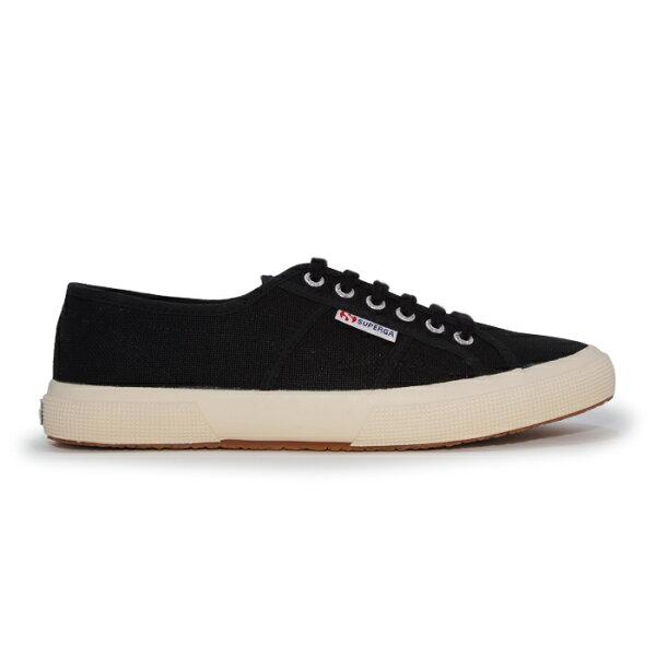 【SUPERGA】義大利國民鞋-黑
