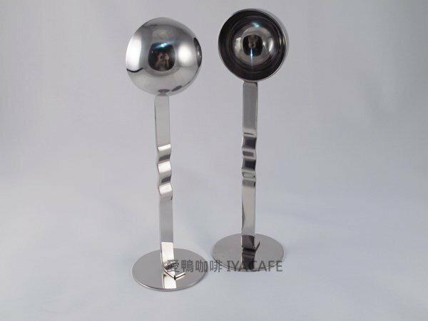 《愛鴨咖啡》兩用 不銹鋼咖啡匙+填壓器 不銹鋼量匙 站立咖啡匙