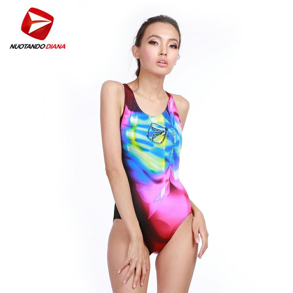 義大利DIANA成人時尚連身泳裝-N110021 0