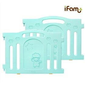 韓國【Ifam】 BaBy Room 圍欄延伸門片 (綠色) 0